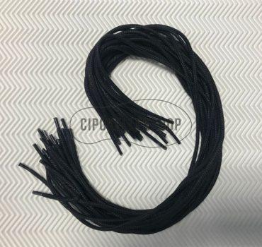 Viaszolt-vastag-gömbölyű-fekete-cipőfűző
