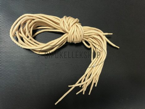 Vastag-gömbölyű-bézs-cipőfűző