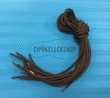 Vastag-gömbölyű-sötétbarna-cipőfűző