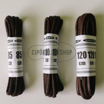 Viaszolt-vastag-gömbölyű-barna-cipőfűző